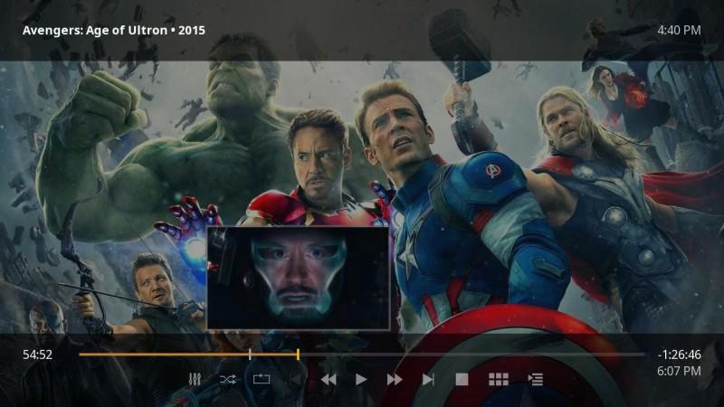 Plex for Roku Movie Seek