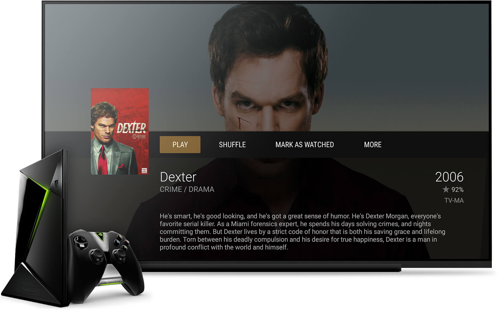 NVIDIA SHIELD running on Plex Media Server