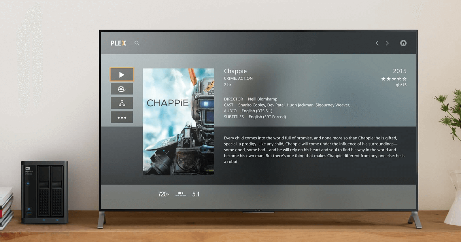 Plex for WD My Cloud Pro Series