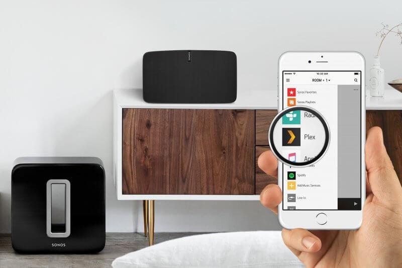 Plex and Sonos