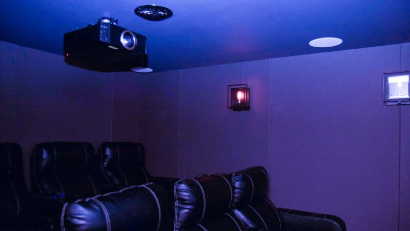 Plex Theater Install - Projector